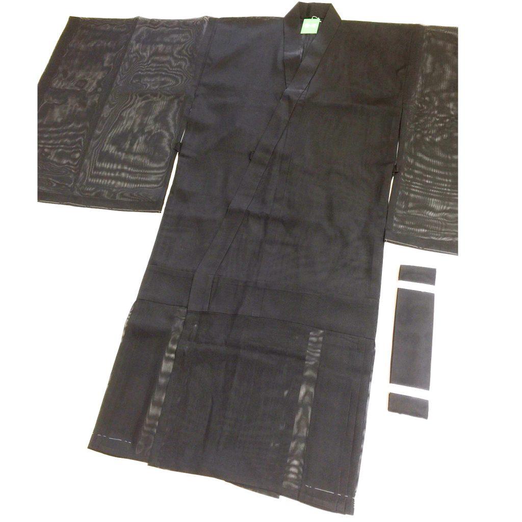 本願寺派用 夏用 明宝紗黒衣 35,000円 既製品