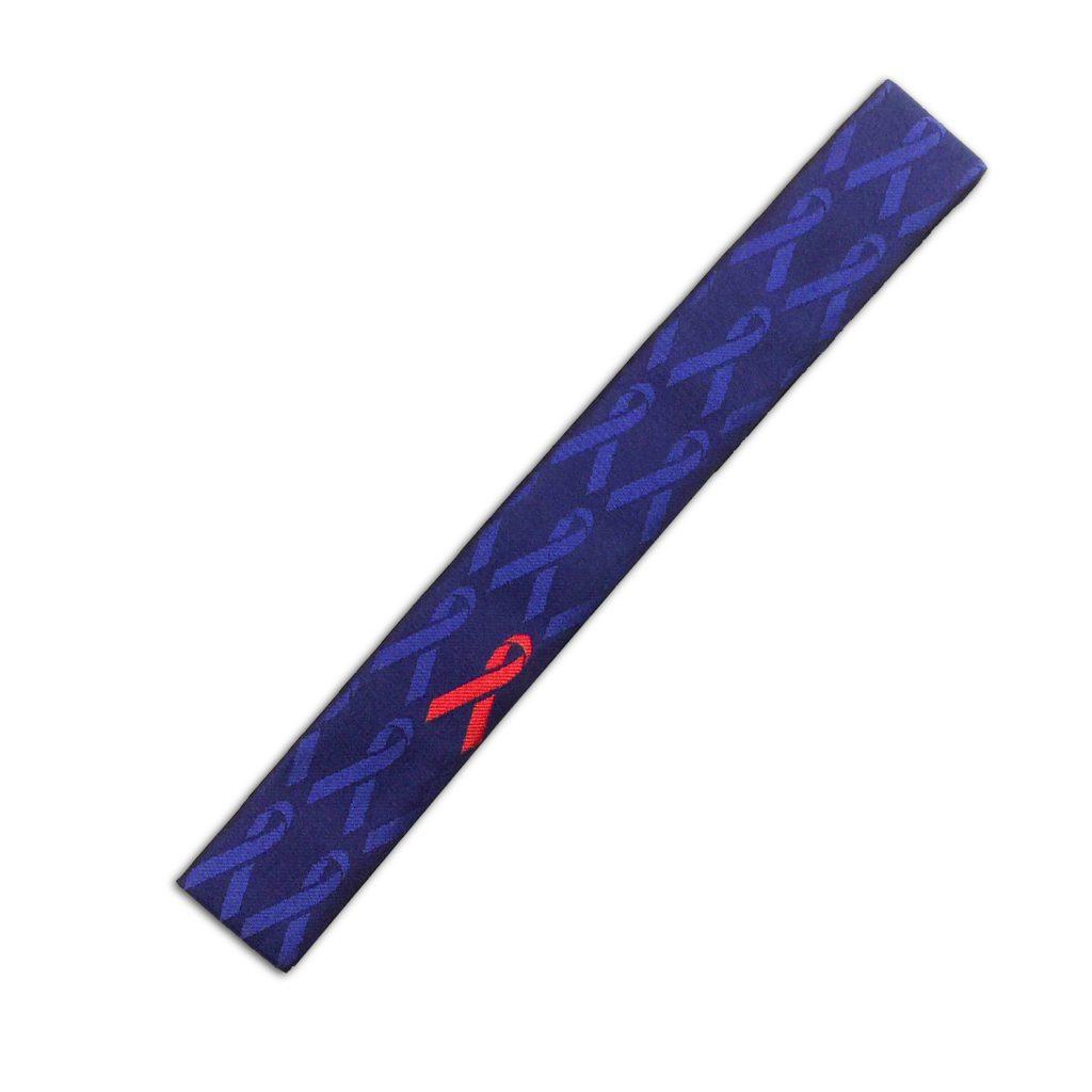 紺地 レッドリボン小紋 輪袈裟 15,400円