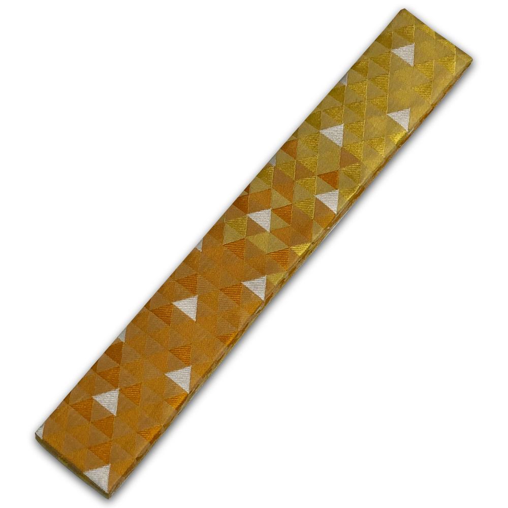 櫨色グラデーション三つ鱗 各宗共通輪袈裟