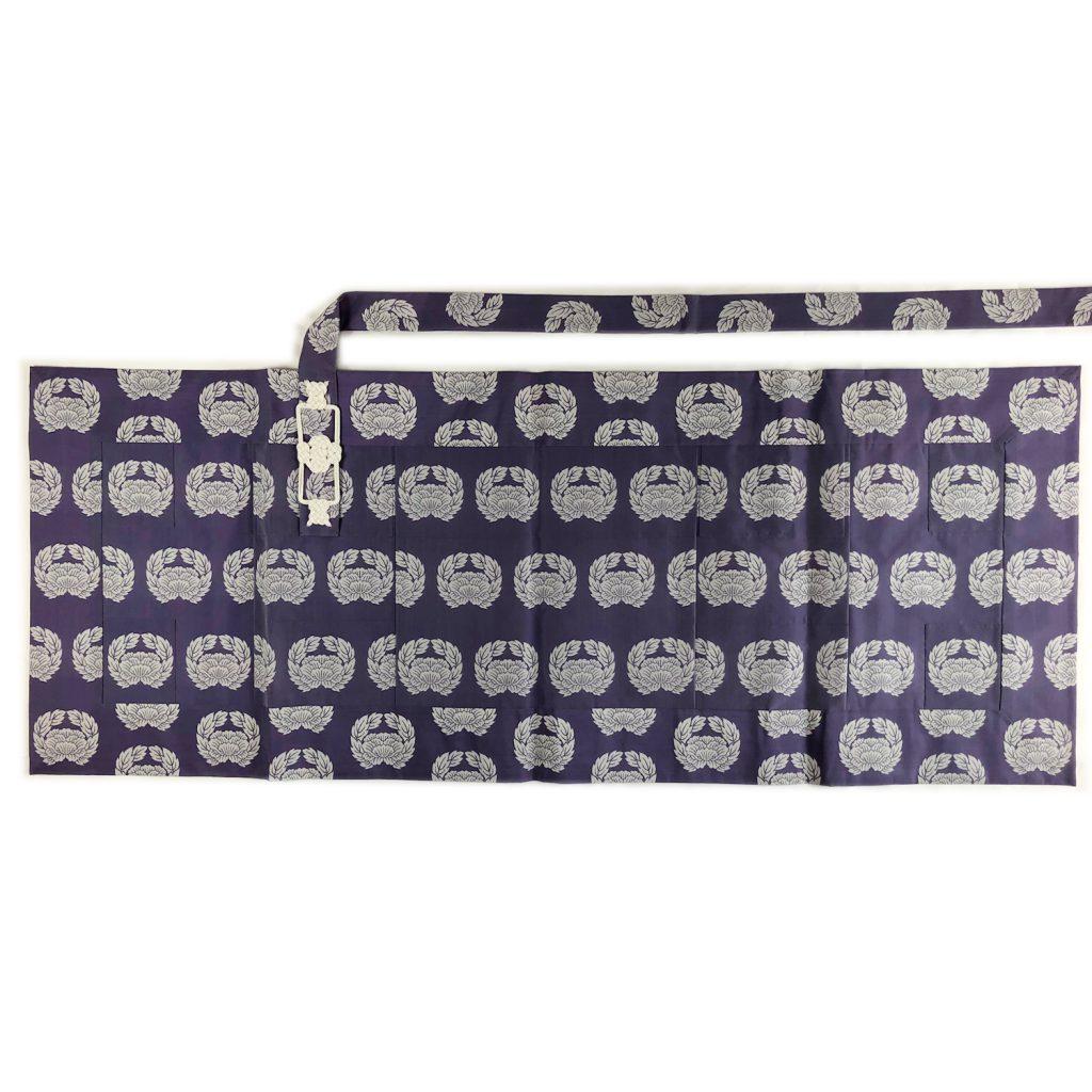 合夏用 薄紫色五条袈裟 66,000円